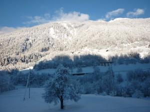 Winter - Aussicht nach Norden